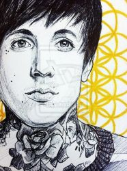Oli Sykes - This is Sempiternal closeup by I-Draw-Bands