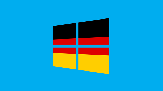 Windows 8 with Germany flag by pavelstrobl