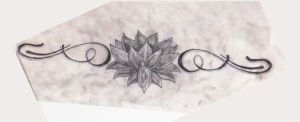 Lotus Lower Back Tattoo by Baby-girl82