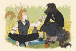 lost his cigar-lighter again by Kate-Venom