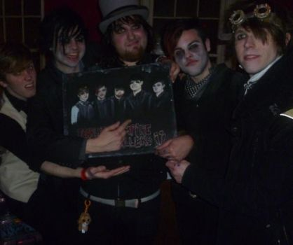 FVK with the canvas by greendaygal13