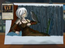 playmat draft - Stoneforge Mystic by STsung