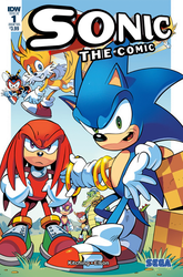 what-if: IDW Publishing Revives Sonic The Comic by Nintrendodude