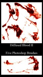 531 - Diffused Blood Set II by Blood--Stock
