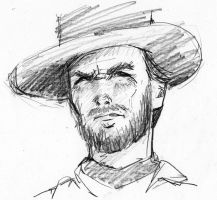 Clint Eastwood by Naouki