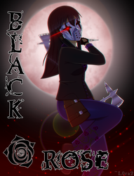 [Proxy OC] Black Rose: Poster 2 by L0ra2