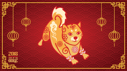 Happy Year of the Doge by pinguino