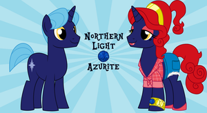 northern light aka Azurite by EvilFrenzy