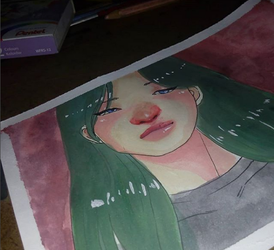 watercolor test by Pammella