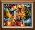 Morning stroll by Leonid Afremov