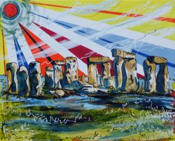 Stonehenge by LauraHolArt