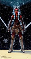 Ahsoka Tano ( Rebels ) by Phraggle