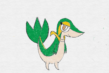 Snivy by fisherman117