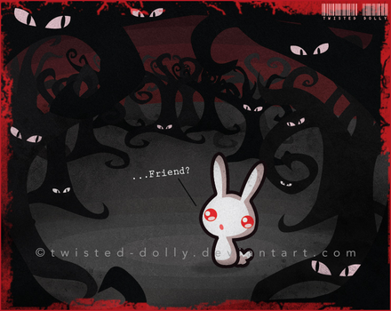 Albino Baby by Twisted-Dolly