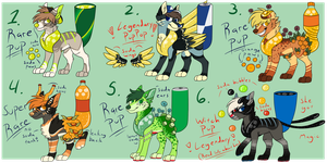 Rare PupPoppies Auction (CLOSED) by HimeAdoptions