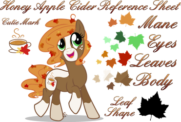 Honey Apple Cider Reference Sheet by equinepalette