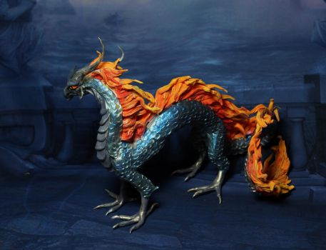 Night fire dragon 3 by kessan