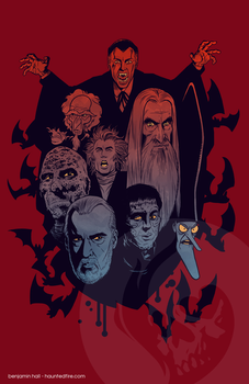 Prince of Darkness - Christopher Lee Tribute by cyclonaut