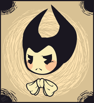 Bendy- I'm NOT Cute! by TheFireMarkedBunny