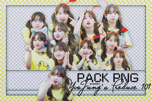 040716 Pack PNG YooJung's  Produce IOI by ANNRV