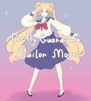 Sailor Moon (sketch) by NakoKohari