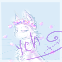 Wolf YCH Auction [Close] by ElisaWind