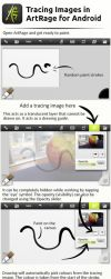 Tracing Images in Artrage For Android by ArtRageTeam