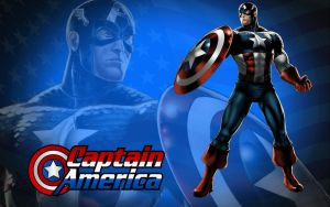 Captain America - Avengers Alliance by Superman8193