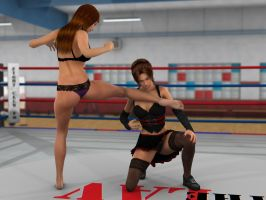 Anne Carter vs Kelly Montana 3A by PhoenixCreed