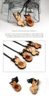 Floral Frolic : Queenie + Dawnsing Necklaces by blix-it