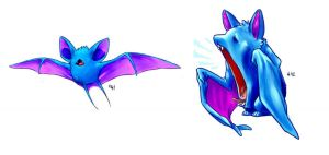 41 -- Zubat and Golbat
