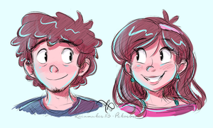 mystery twins by Rainmaker113