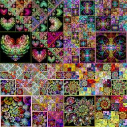JWildfire Fractal Quilt by wolfepaw
