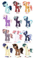 [CLOSED] - Ponies Batch 12 by Featheries