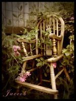 The Florists Throne by EmoAARtist93