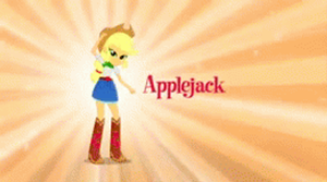 EG Applejack and Rarity .gif by mumble76