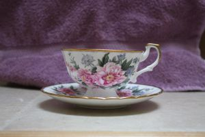 Tea Cup I by GreenEyezz-stock
