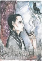 Sherlock Holmes, the great detective by Ephaistien
