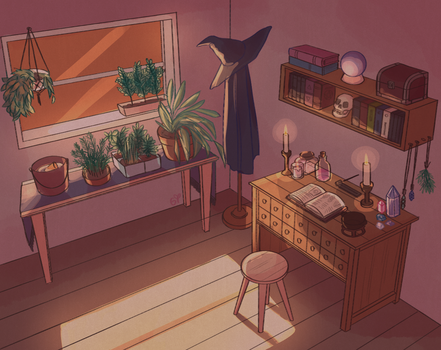 30 day bg challenge - witch's room by vtmngi