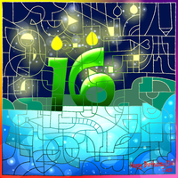 HAPPY SWEET 16TH BIRTHDAY DEVIANTART!! by Acesurin