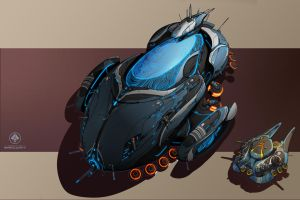 Substrate Overmind / Brain Whale by zombat