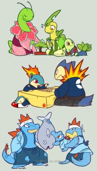 GHSS Starters in Japan by Caillo