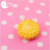 Round Biscuit Necklace by CuteMoonbunny