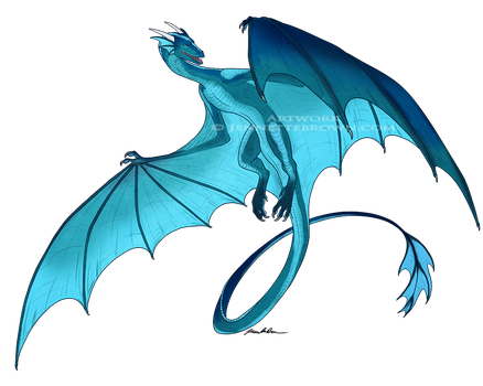 SomemuttupNorth Wyvern Commission by sugarpoultry