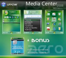 Upfone Media Center 2008 by brthtms