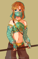 GerudoLink - Breath of The Wild by JuulieWoof