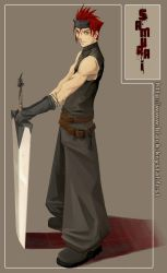 Swordsman by Aelwine