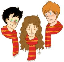 the golden trio by Fensterseifer