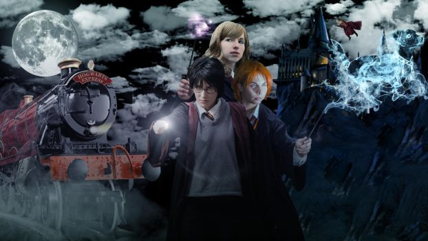 Harry Potter: 3 Heroes 3 Hallows by MetroProductions