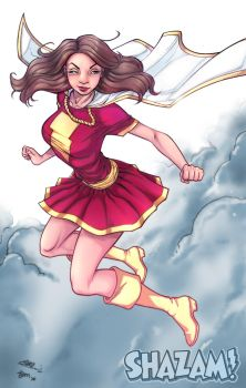 Hero #6: Mary Marvel by KHAN-04